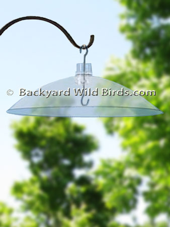 Bird Feeder Hanging Baffle