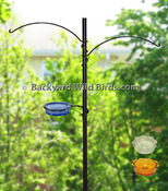 Bird Feeder Hanger Arms