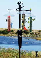 Bird Feeder Pole System 3