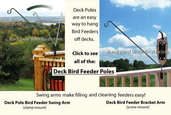 Bon Backyard Wild Birds   Bird Feeder Poles With Bird Feeders