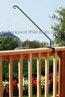 Deck Wrought Iron Bracket Arm