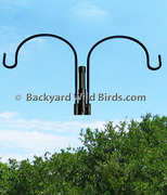 Bird Feeder S-Pole Duo Hanger Arm