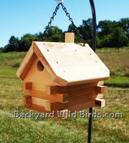 Log Cabin Style Birdhouses Joy Studio Design Gallery