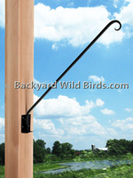Wrought Iron Swing Arm Bracket