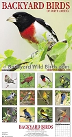 Backyard Birds 2018 Calendar