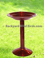 Bird Bath Dark Copper