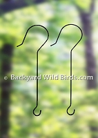 Bird Feeder Branch Hooks