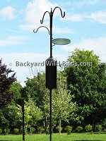 Bird Feeder Pole System E7