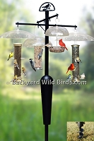 Bird Feeder Pole System A1