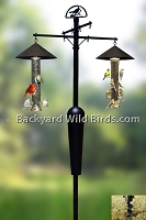 Bird Feeder Pole System A7