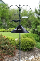 Bird Feeder Station Pole