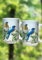 Bluebird Coffee Mug Pair