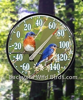 Bird Outdoor Thermometers