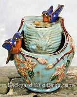 Bluebird Water Fountain
