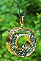 Bronze Fly Thru Bird Feeder