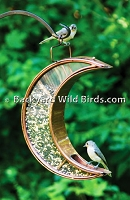 Bronze Moon Bird Feeder