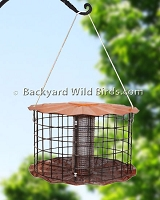 Cage Mesh Sunflower Bird Feeder