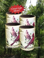 Cardinal Insulated Can Holders