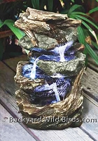 Cascading Rock Water Fountain