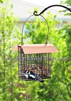 Copper Double Suet Feeder