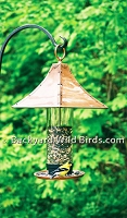 Copper Pagoda Bird Feeder