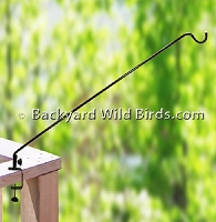 Deck Bird Feeder Swing Arm