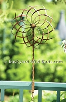Deck Copper Pinwheel Spinner
