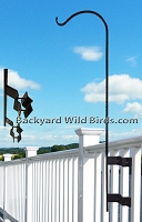 Deck Pole Baluster Mount
