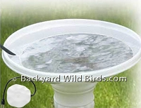 Heated Birdbath Deicer