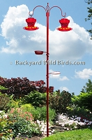 Small Bird Feeder Station Poles