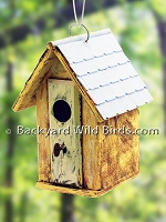 Key Hole Birdhouse