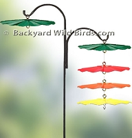 Metal Bird Feeder Baffles