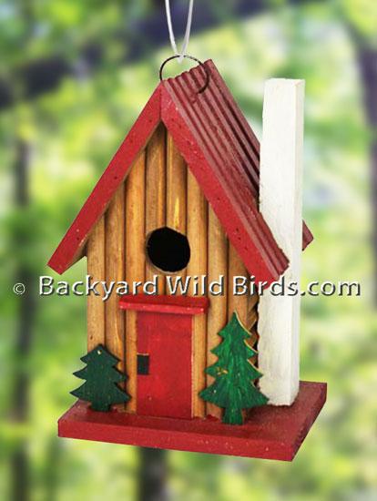 Cedar Wren Birdhouse