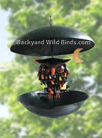 Owl Decor Bird Feeder