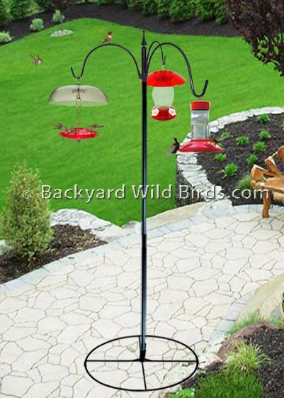 free standing bird feeder base 1