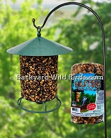Seed Log Bird Feeder
