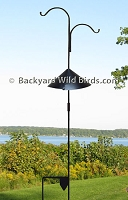 Shepherd Staff Bird Feeder Pole
