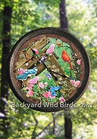 Songbird Tin Bird Clock