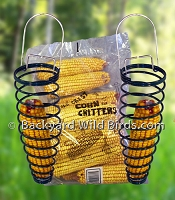 Squirrel Ear Corn Feeders