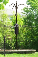 Squirrel Proof Bird Pole Twist