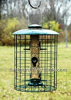 Squirrel Proof Tube Bird Feeder