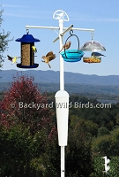 Bird Feeder Pole System A9