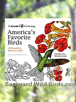 Backyard Birds Coloring Book
