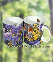 Bluebirds Springtime Coffee Mugs