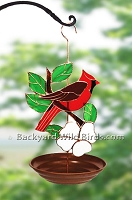 Cardinal Bird Feeder Tray