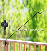 Deck Bird Feeder Swing Bracket Arm