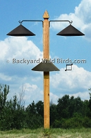 Post Bird Feeder Pole Kit
