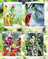 Wild Bird Coffee Mugs Select Set