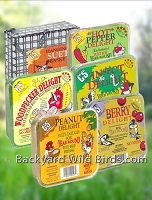Bird Suet Cakes And Suet Feeder