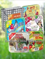 Bird Suet Treat Cakes And Suet Feeder